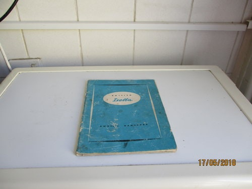 Isetta Owners Handbook For Sale (picture 3 of 3)