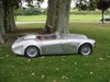 Picture of Austin Healey with fantastic, hand made alluminum body SOLD