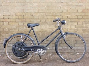Picture of 1951 Cyclemaster 32cc fitted to ladies pushbike SOLD