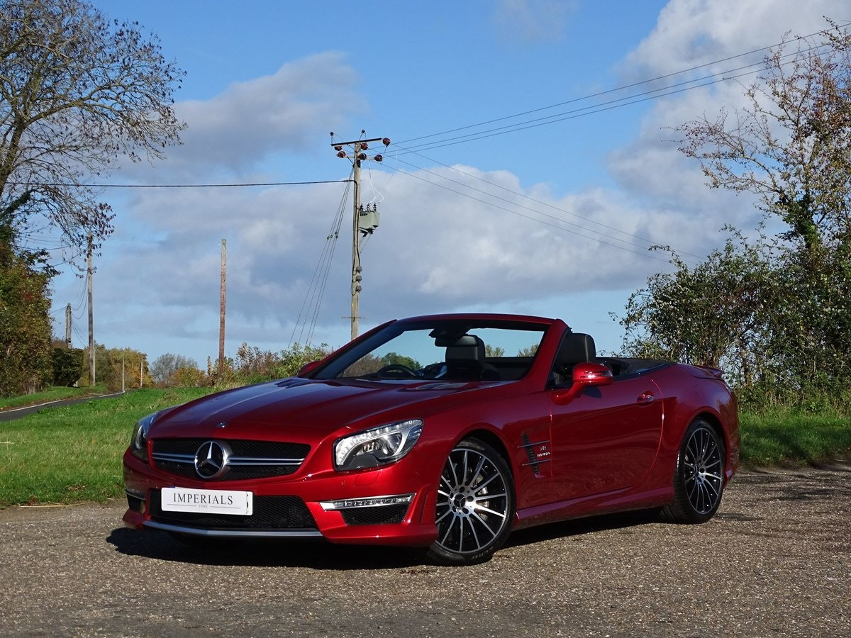201464 Mercedes-Benz SL 63 AMG SOLD (picture 1 of 20)
