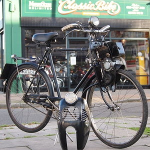 Picture of 1950 Cymota Cycle Motor 45cc Autocycle, Rare One Of 200 Made. For Sale