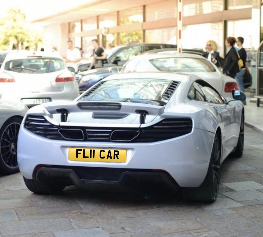 2011 FL11CAR Cherished registration,Ideal 'FLY CAR' private plate For Sale (picture 1 of 3)