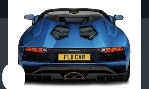 2011 FL11CAR Cherished registration,Ideal 'FLY CAR' private plate For Sale (picture 2 of 3)