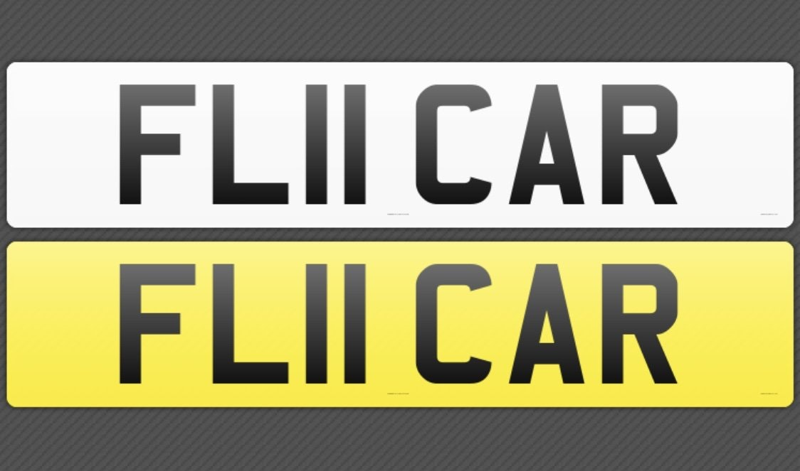 2011 FL11CAR Cherished registration,Ideal 'FLY CAR' private plate For Sale (picture 3 of 3)