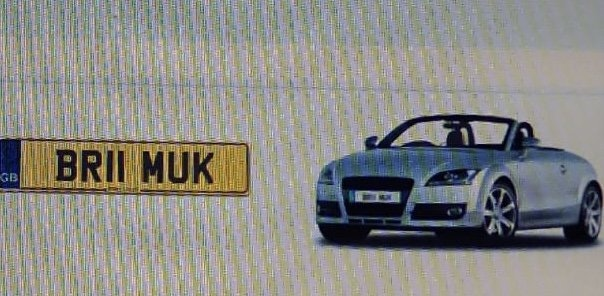 2011 BR11MUK Cherished Reg, Ideal 'BRUM UK' private plate For Sale (picture 2 of 3)