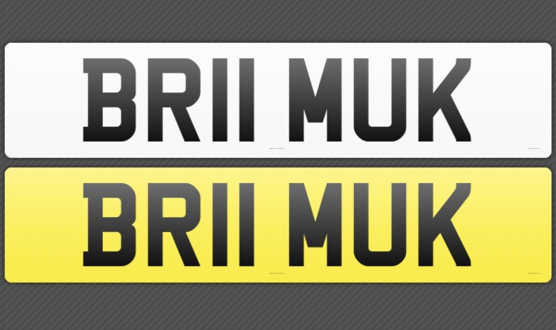 2011 BR11MUK Cherished Reg, Ideal 'BRUM UK' private plate For Sale (picture 3 of 3)
