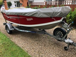 Picture of 2008 Sea Jay 4.4 Castaway with Evinrude 40hp (Fishing Boat) SOLD