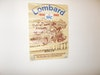 VINTAGE LOMBARD RALLY POSTER ORIGINAL 1982 STRATFORD ON AVON