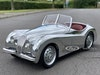 Jaguar XK 120 Alloy Pedal Car