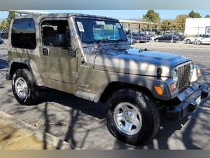 2006 Jeep Wrangler Sport RHD Sport SUV 4WD clean driver For Sale (picture 1 of 12)