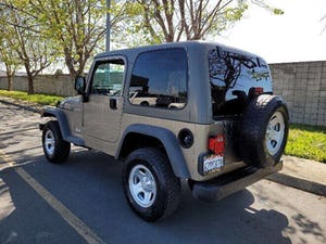 2006 Jeep Wrangler Sport RHD Sport SUV 4WD clean driver For Sale (picture 3 of 12)