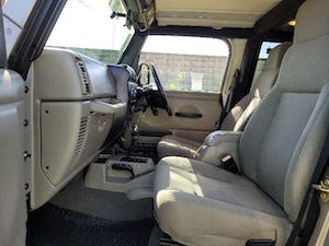 2006 Jeep Wrangler Sport RHD Sport SUV 4WD clean driver For Sale (picture 7 of 12)