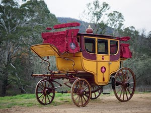1860s VICE REGAL CEREMONIAL TOWN COACH - Maharajah of Mysore For Sale by Auction (picture 1 of 12)