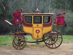 1860s VICE REGAL CEREMONIAL TOWN COACH - Maharajah of Mysore For Sale by Auction (picture 2 of 12)