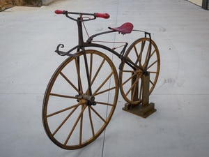 1868 A very rare bone-shaker bicycle, attributed to Micheax For Sale by Auction (picture 2 of 5)