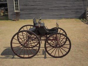 COAL BOX SHOW BUGGY, NSW ORIGIN, 1890s For Sale by Auction (picture 1 of 4)