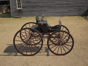 COAL BOX SHOW BUGGY, NSW ORIGIN, 1890s For Sale by Auction (picture 2 of 4)