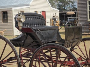 COAL BOX SHOW BUGGY, NSW ORIGIN, 1890s For Sale by Auction (picture 3 of 4)
