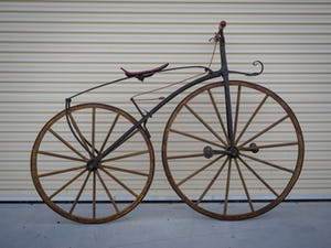 1868 A very rare bone-shaker bicycle, attributed to Micheax For Sale by Auction (picture 1 of 5)