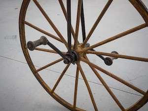 1868 A very rare bone-shaker bicycle, attributed to Micheax For Sale by Auction (picture 5 of 5)