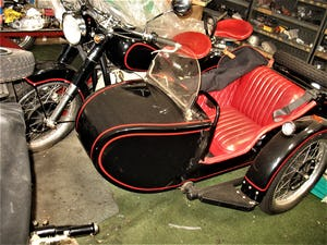1967 CJ Sidecar Outfit. For Sale (picture 1 of 1)