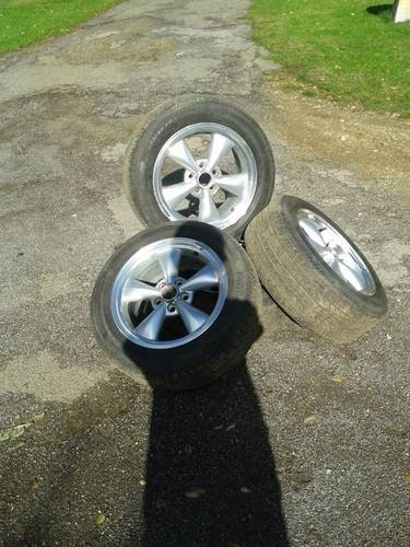 American Thrust Rims plus tyres For Sale (picture 1 of 6)