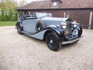 1939 Rolls-Royce Phantom III drophead coupe For Sale (picture 1 of 20)