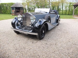 1939 Rolls-Royce Phantom III drophead coupe For Sale (picture 2 of 20)