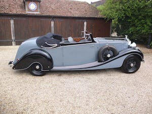 1939 Rolls-Royce Phantom III drophead coupe For Sale (picture 4 of 20)