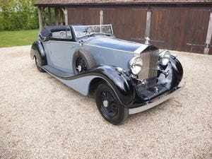 1939 Rolls-Royce Phantom III drophead coupe For Sale (picture 5 of 20)