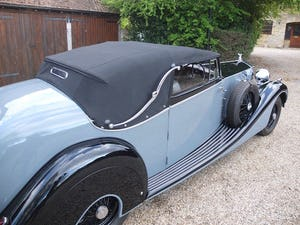 1939 Rolls-Royce Phantom III drophead coupe For Sale (picture 10 of 20)
