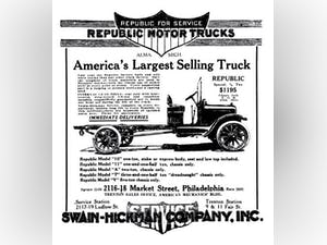 1919 Republic 1-1/2 Ton Pickup Truck For Sale (picture 2 of 6)