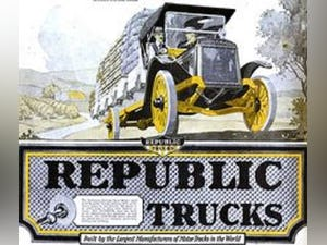 1919 Republic 1-1/2 Ton Pickup Truck For Sale (picture 5 of 6)