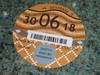 Picture of Road Tax Disc 2018. SOLD