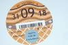 Picture of Road Tax Disc ( 2018 ). SOLD